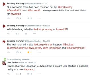 Edcamp Hershey is Born
